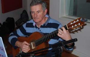 Paul in SDC recording studio November 2012